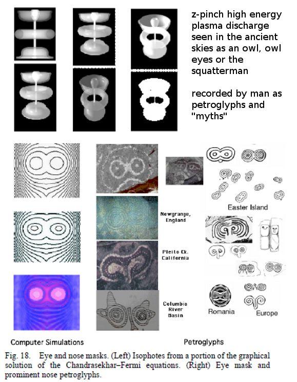 Teriam os povos antigos observado um universo diferente? Ancient-owl-image-mask-petroglyph-myth-explained