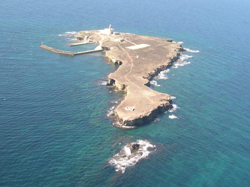 wave cut platform islands
