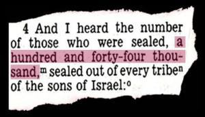 144000 number bible new testament revelation Mayan Long Count calendar