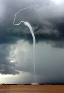 plasma waterspouts