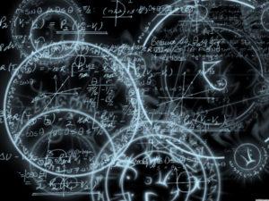 Elegant maths model universes