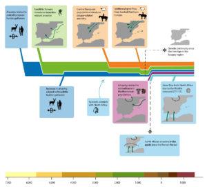 mass migrations catastrophe mythology