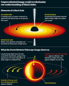 supermassive black hole toroidal plasma shape