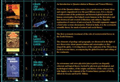 Alfred de Grazia books ebooks free Quantavolution series EU Electric Universe theory Immanuel Velikovsky