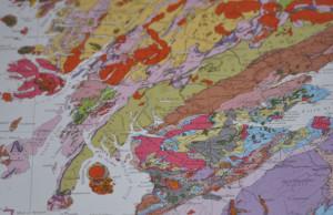 Isle of Arran geology geological rock types maps