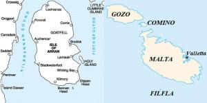 arran malta islands geology