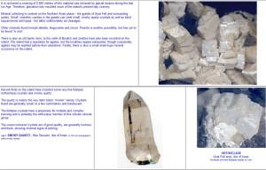 Isle of Arran minerals