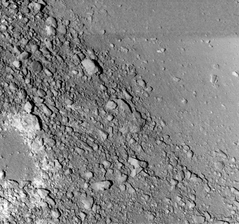 itokawa asteroid surface - photo #17