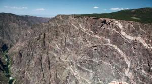 Black Canyon Quartz veins
