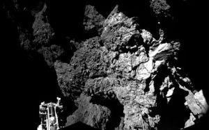 comet 67p rocky surface