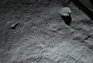 comets regolith rocks 67p