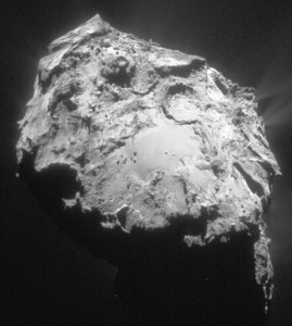 comets rock boulders rocky craters erosion