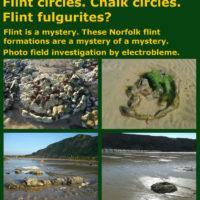 Flint circles. Chalk circles. Flint fulgurites? ebook Norfolk paramoudras electrobleme