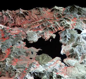 earth ground uplift laguna del maule chile