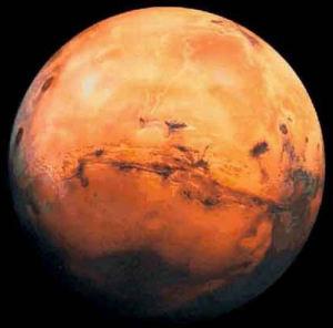 earths water from origin mars