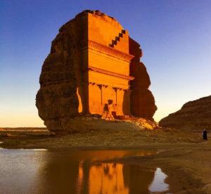 Nabataean false doors Egyptian
