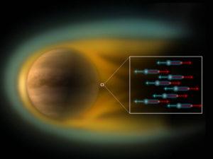 electric wind venus solar system plasma cosmology