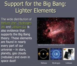 elements eu theory evidence big bang metal helium