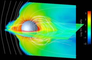 ganymede jupiter aurora  electric universe evidence