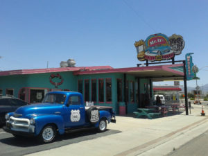 EU theory geology tour Route 66 Diner Mr D'z