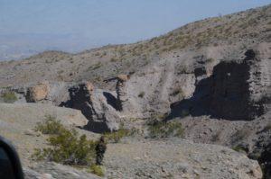 EU theory geology tour Hoodoos tent rock