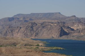 EU theory geology tour Virgin River Lake Mead Mesa table top mountains
