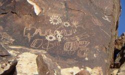 petroglyphs sun saturn plasma discharge