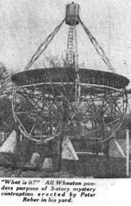 Grote Reber radio astronomy telescope