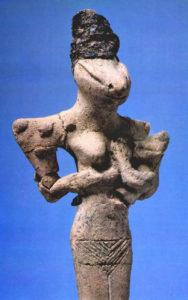 Hathor Isis suckling animal gods