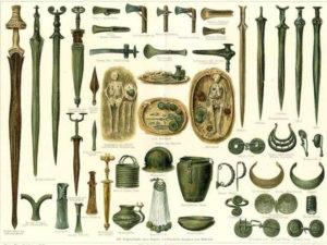 Iron Age mythology weapons dating why before bronze age