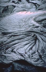 magma lava ropes Pahoehoe