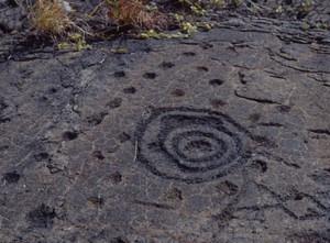 petroglyphs circular pattern dots spots rings holes