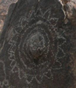 petroglyphs sun sunshine flowers petals SAFIRE Project EU theory