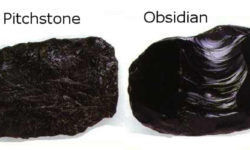 pitchstone obsidian arran