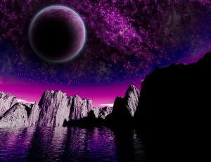 Saturnian System Myth polar