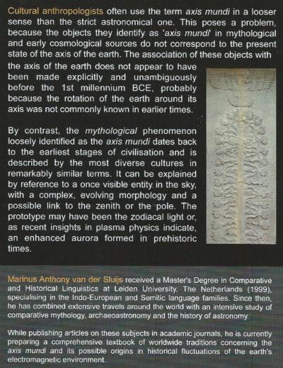 The World Axis as an Atmospheric Phenomenon Rens van der Sluijs book ebook electric universe theory