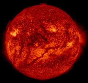 solar filaments sun