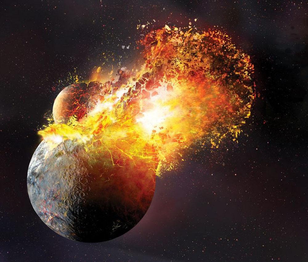 Solar System Cosmogony va scenario eu theory