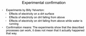 Michael Steinbacher geology experiments Billy Yelverton
