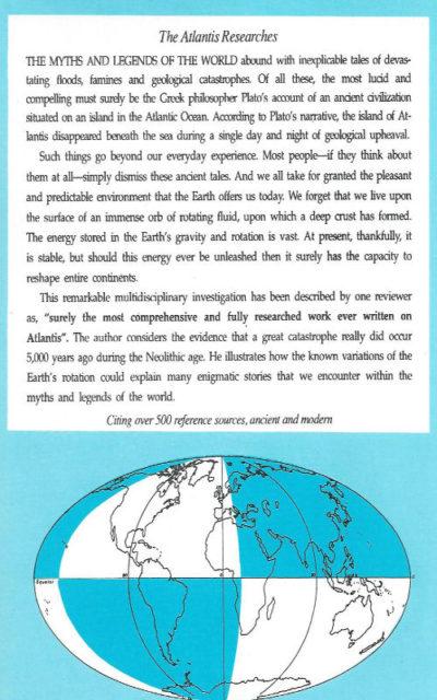 The Atlantis Researches Paul Dunbavin earth reversal flip mythology british isles archaeoastronomy