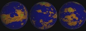 venus liquid oceans co2 erosion