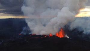 volcano dykes subsurface underwater volcanic