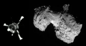 what comet asteroid landed on missions