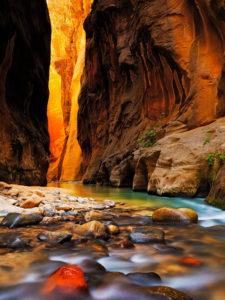 zion canyon The narrows