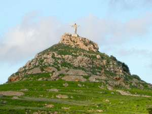 tal merzuq tal salvatur hill the saviours hill qolla gozo malta volcano ray of light legend