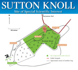 Sutton Knoll map
