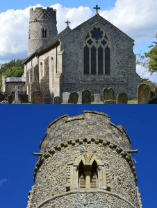 Nikolaus Pevsner and the problem of the Norfolk round tower churches - St Mary Haddiscoe