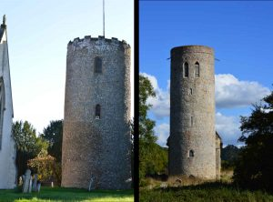 Round towers mystery and East Anglia flint churches