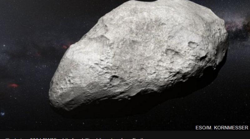 asteroids 2004 EW95 water Vesta