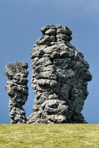 Mansi mythology megalith